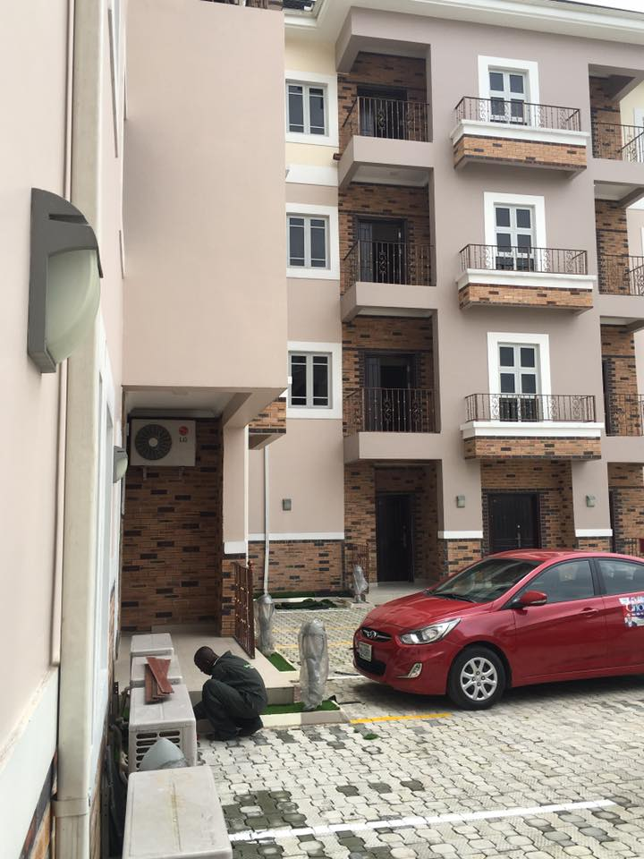 Installation in Progress - Chokmah Staff House