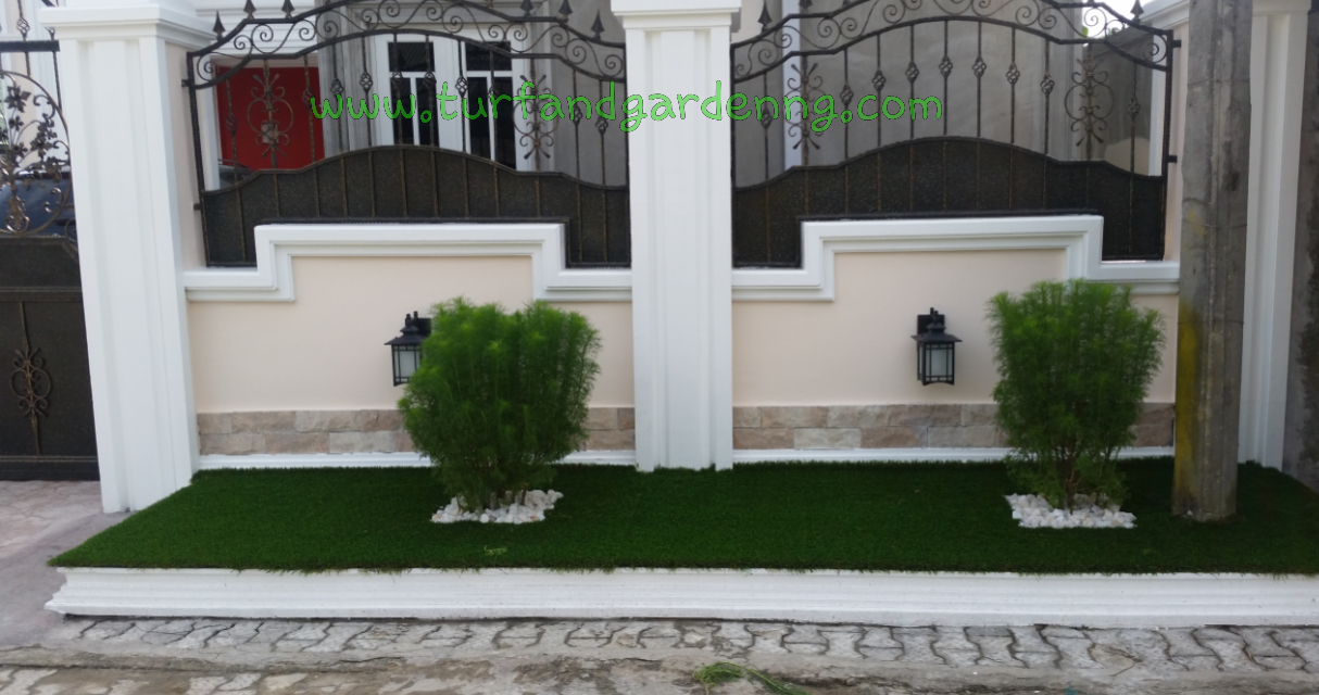 Residential Lawn PHC - Completed front view