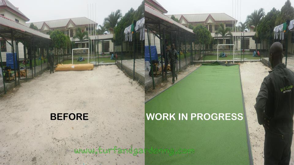 Dayspring Schools, PHC - Installation in progress