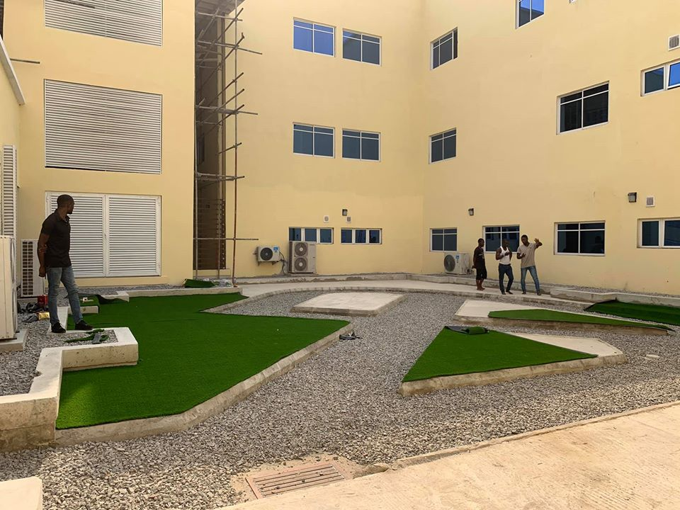 Mother & Child Hospital during installation - Ph Rivers state