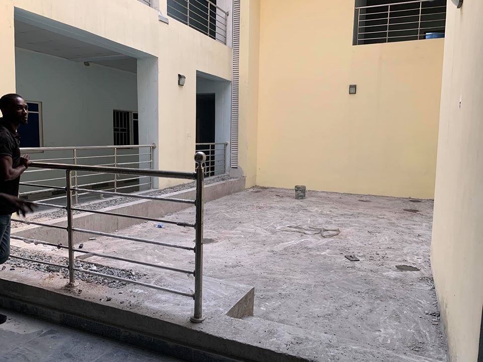 Mother & Child Hospital before installation - Ph Rivers state