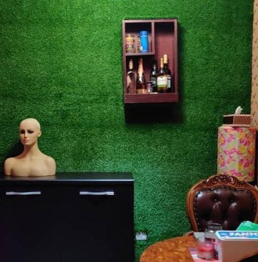 @ a client's home