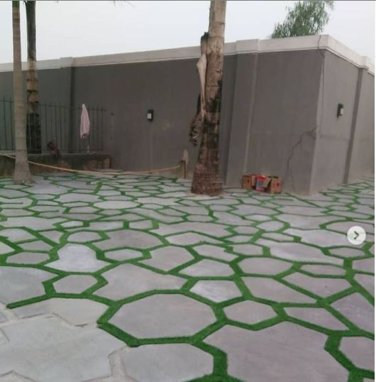 Creative design at a residential place