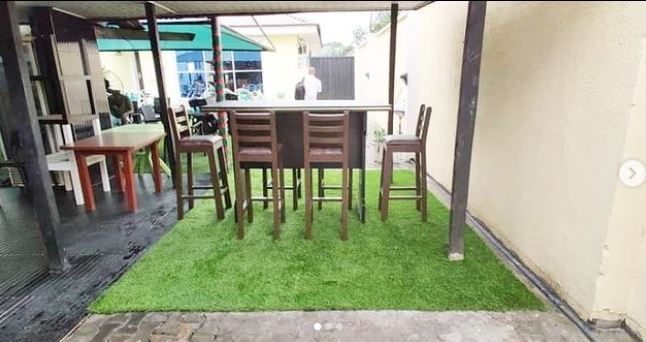 Lounge Pimped with Artificial Grass