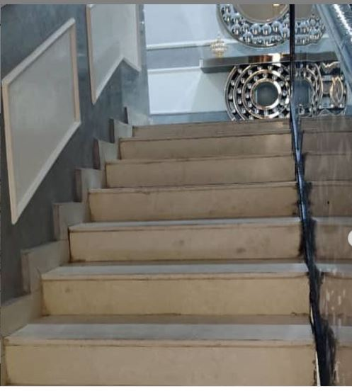 Staircase Before Installation