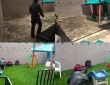 Beautiful mini residential playground Elimgbu - Before & After